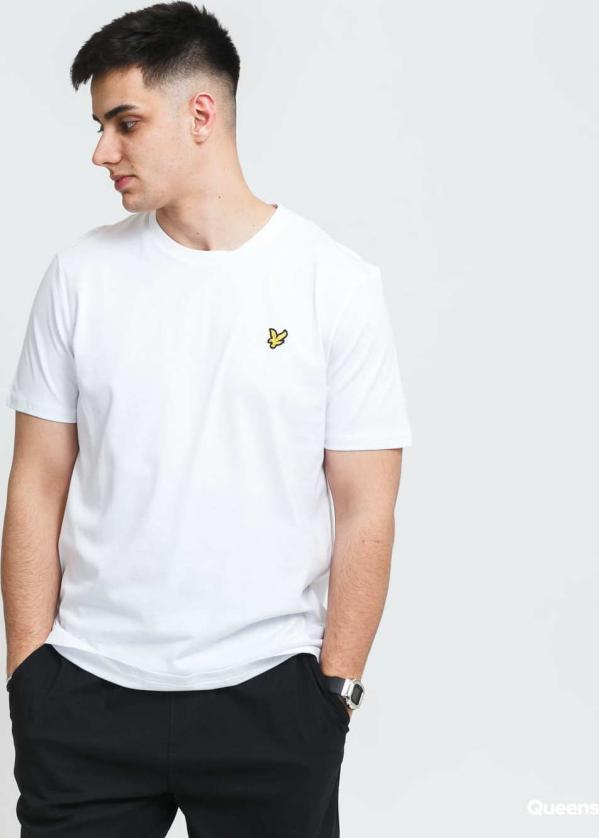 Lyle & Scott Crew Neck T-Shirt bílé