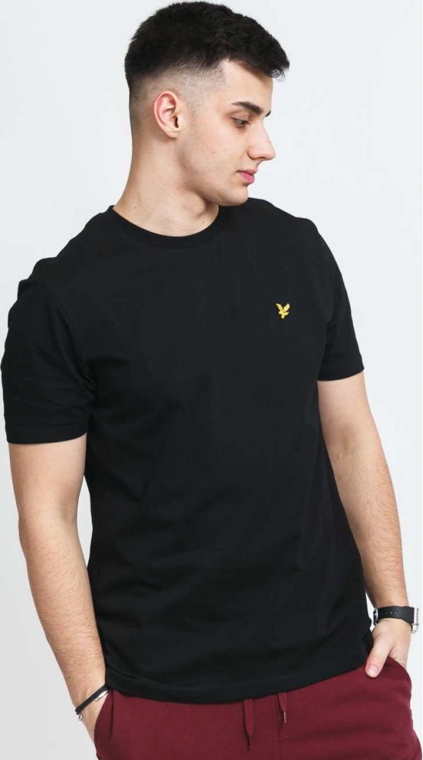 Lyle & Scott Crew Neck T-Shirt černé