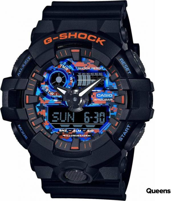 "Casio G-Shock GA 700CT-1AER ""City Camouflage Series"" černé"