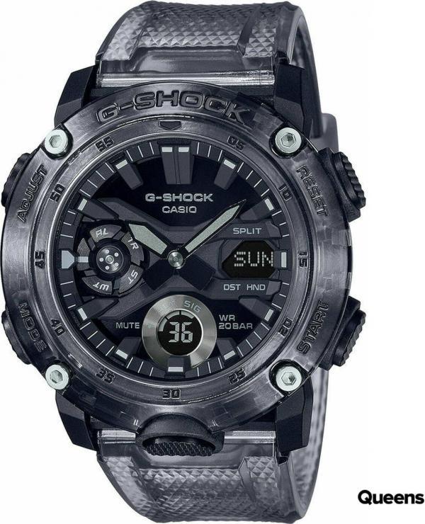 """Casio G-Shock GA 2000SKE-8AER """"Skeleton Series"""" černé průhledné"""