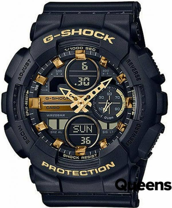 """Casio G-Shock GMA S140M-1AER """"Metallic Markers and Accents"""