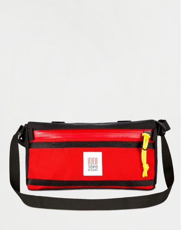 Topo Designs Bike Bag Red/Black