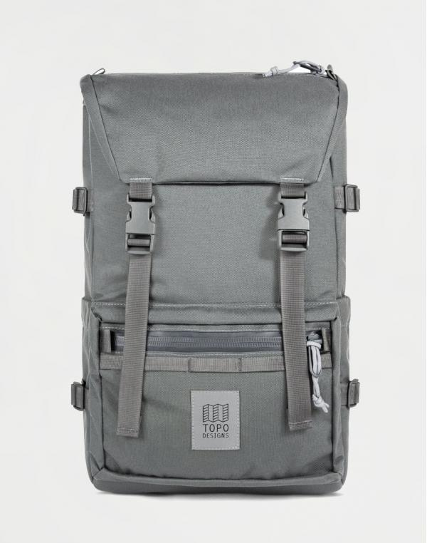 Topo Designs Rover Pack Tech Charcoal/Charcoal