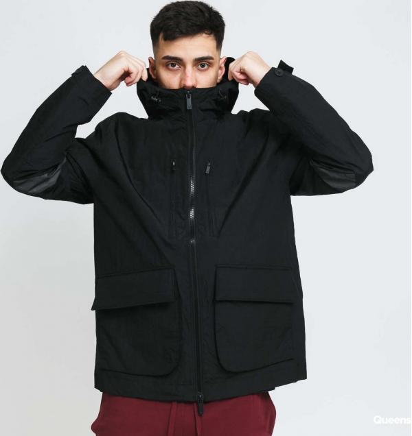 Lyle & Scott Hooded Jacket černá