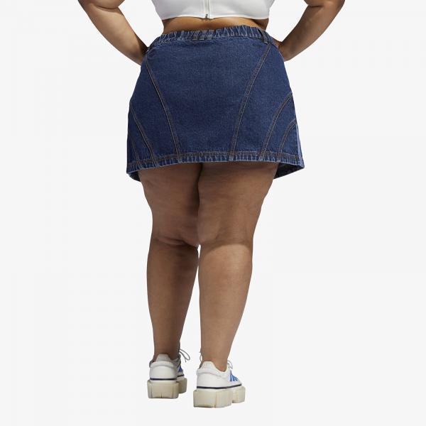 adidas x Ivy Park Denim Skirt Dark Denim