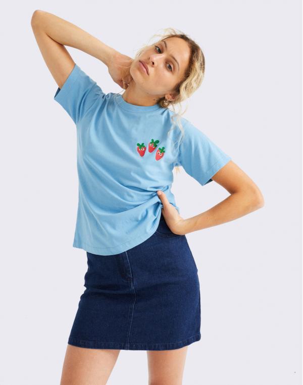 Thinking MU Fresas T-Shirt SKY XS