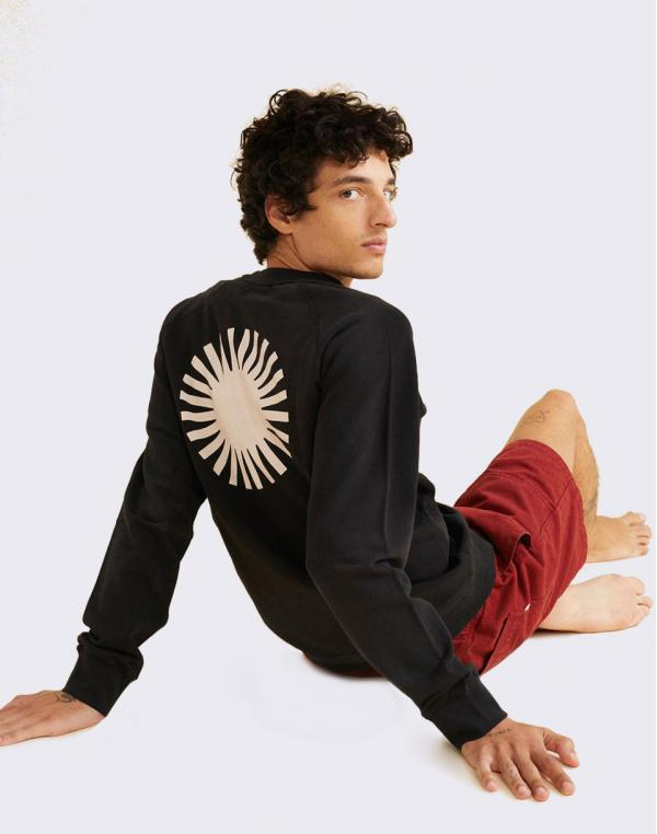 Thinking MU Sol Black Sweatshirt BLACK M