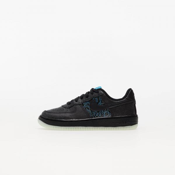 Nike x Space Jam: A New Legacy Force 1 (PS) Black/ Black-Lt Blue Fury