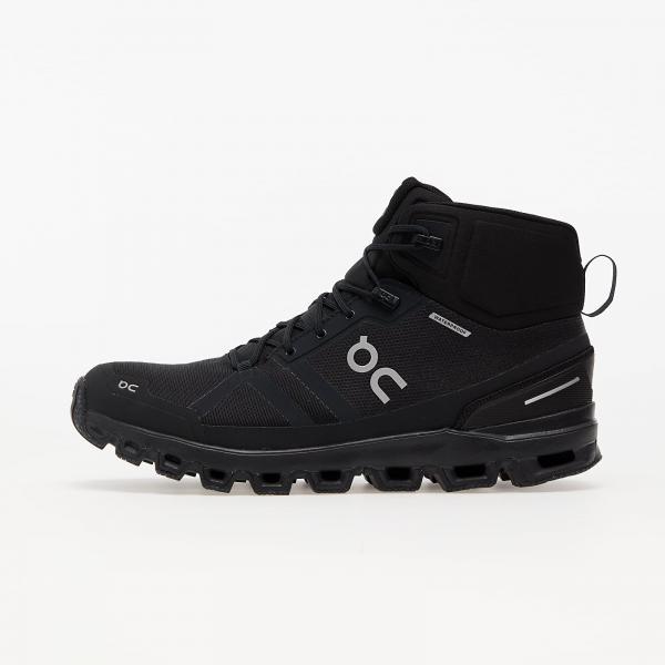 On M Cloudrock Waterproof All Black