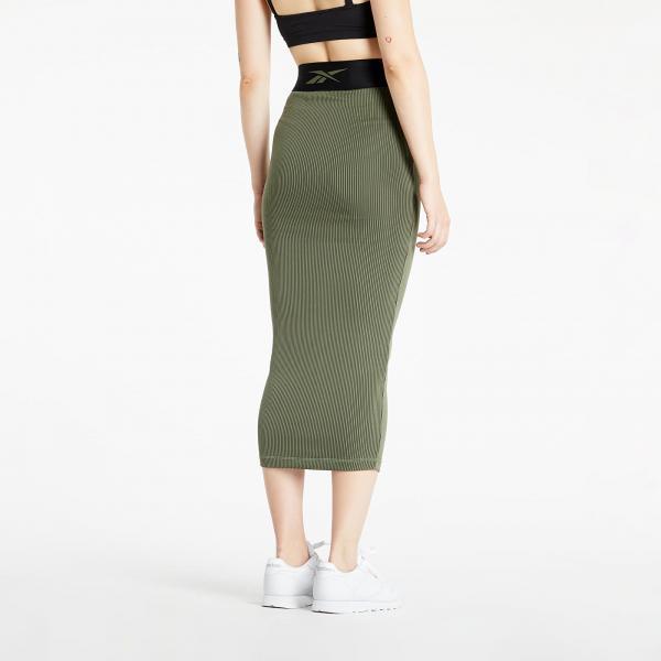 Reebok x Cardi B Rib Skirt Black