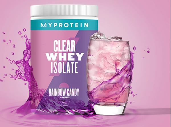 Myprotein  Clear Whey Isolate - 35servings - Sladká duha