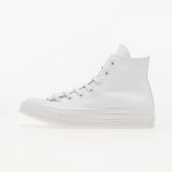 Converse Chuck 70 Canvas Zip White/ Prime Pink/ White