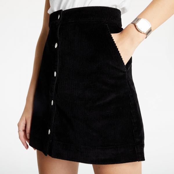 Calvin Klein Jeans Corduroy Skirt Ck Black