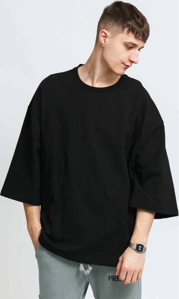 PREACH Kimono Sleeve Tee černé