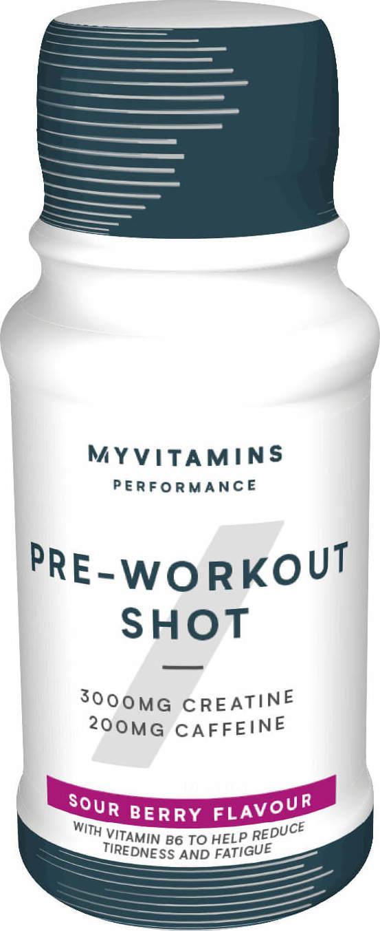 Myvitamins  Pre-Workout Shot - 12x60ml - Sour Berry