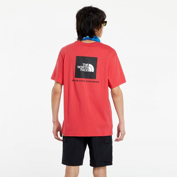 The North Face ShortSleeve Redbox Tee Rococco Red
