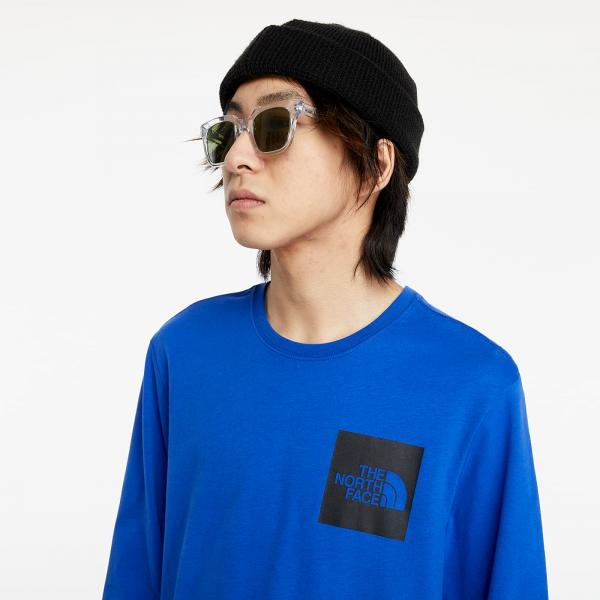 The North Face Long Sleeve Fine Tee Blue