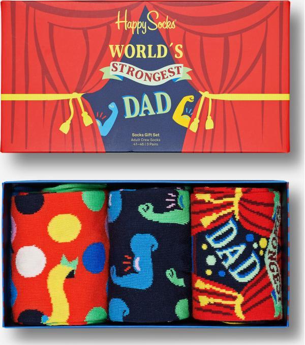 Father´s Day Ponožky 3 páry Happy Socks