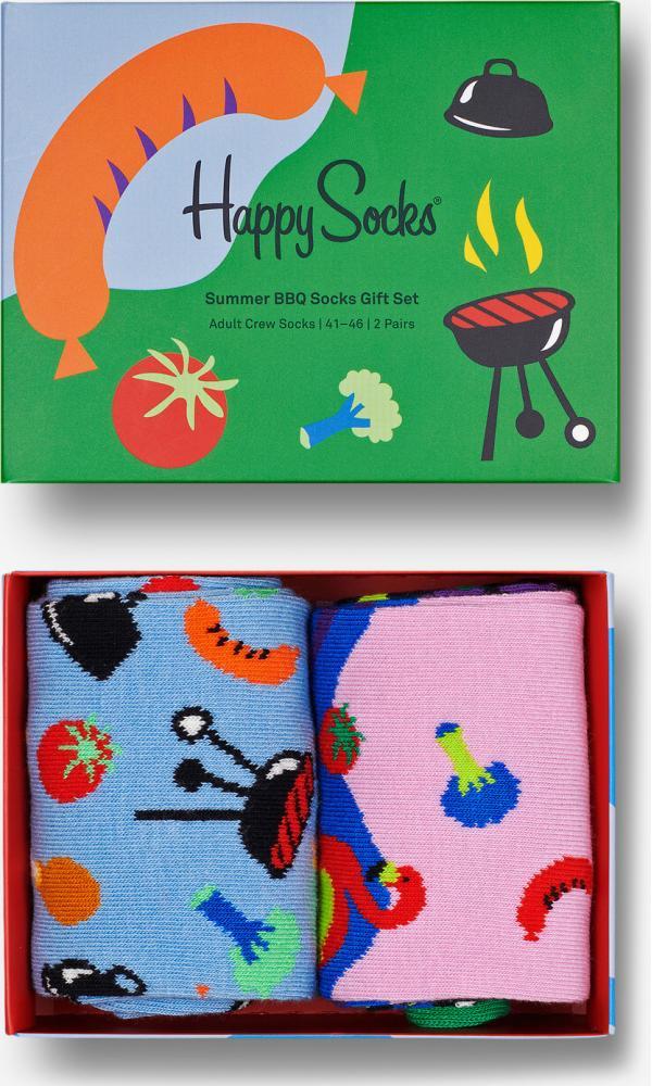 Summer BBQ Ponožky 2 páry Happy Socks