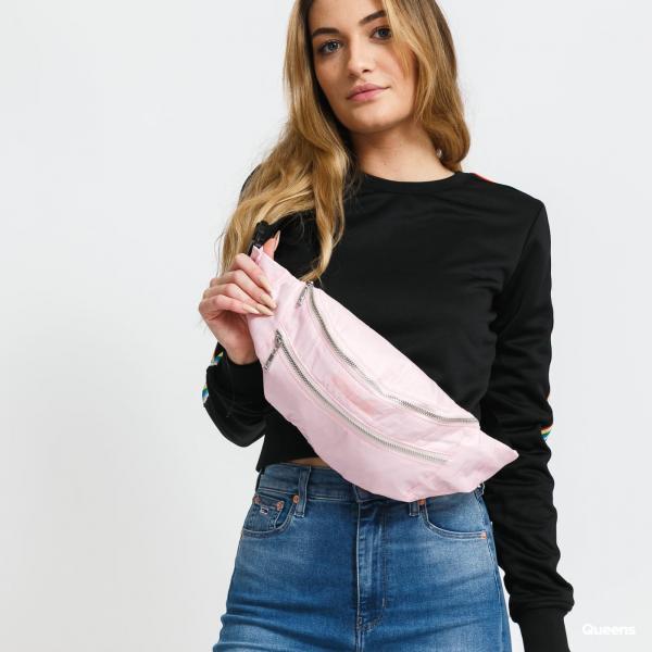 Fila Waist Bag Light Ripstop Double Zipper růžová