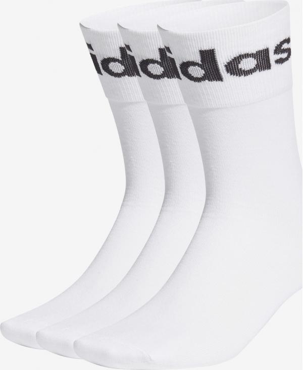Fold Cuff Crew Ponožky 3 páry adidas Originals
