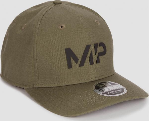 MP  MP New Era 9FIFTY Stretch Snapback - Dark Olive/Black - S-M