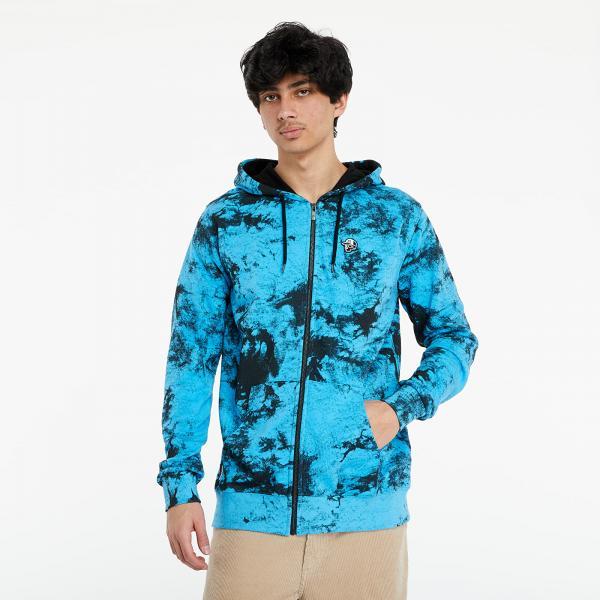Horsefeathers Joshua Sweatshirt Blue Tie Dye