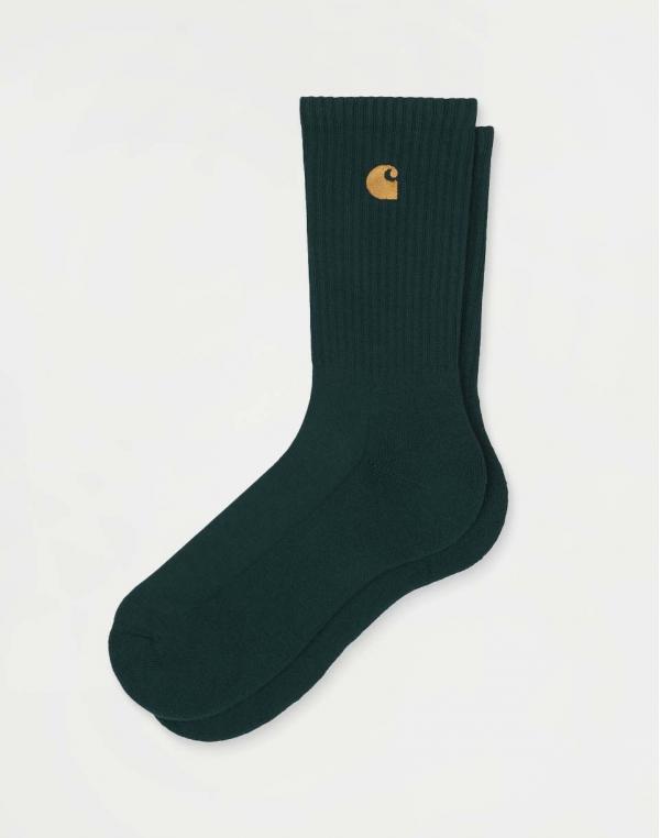 Carhartt WIP Chase Socks Frasier / Gold