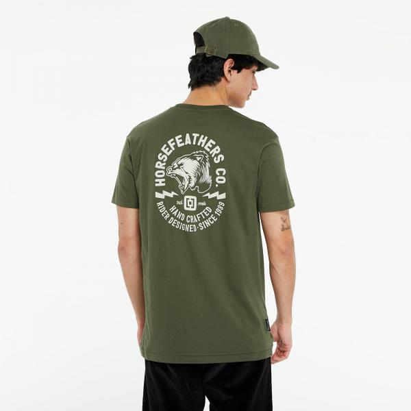 Horsefeathers Fang T-Shirt Olive