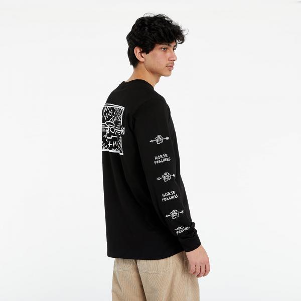 Horsefeathers Shaft Ls T-Shirt Black
