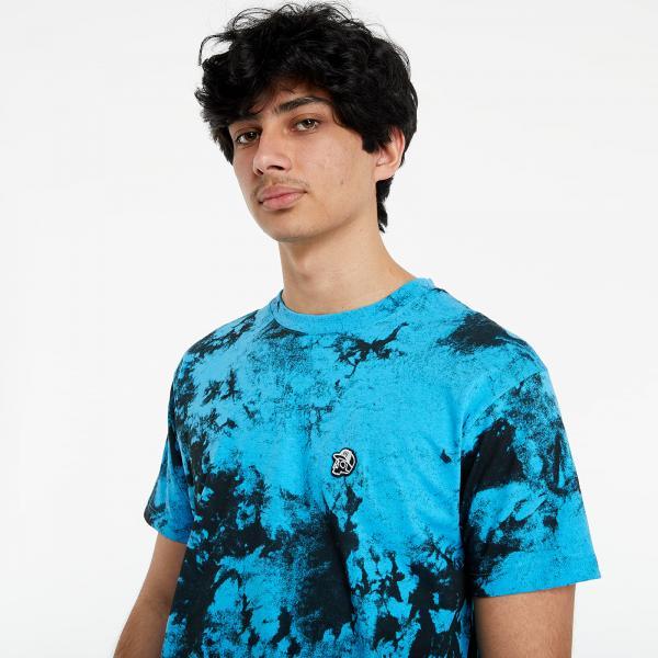Horsefeathers Elmo T-Shirt Blue Tie Dye