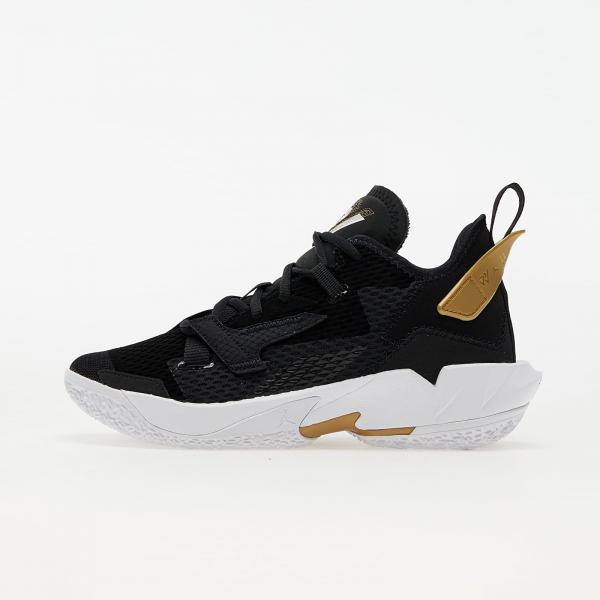 "Jordan ""Why Not?"" Zer0.4 (GS) Black/ White-Metallic Gold"