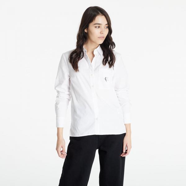 Calvin Klein Jeans Monogram Shirt Bright White