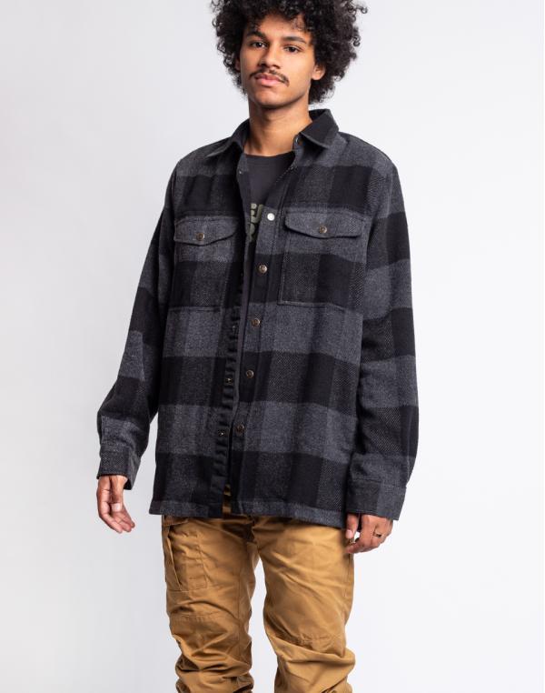 Fjällräven Canada Shirt M 550 Black M