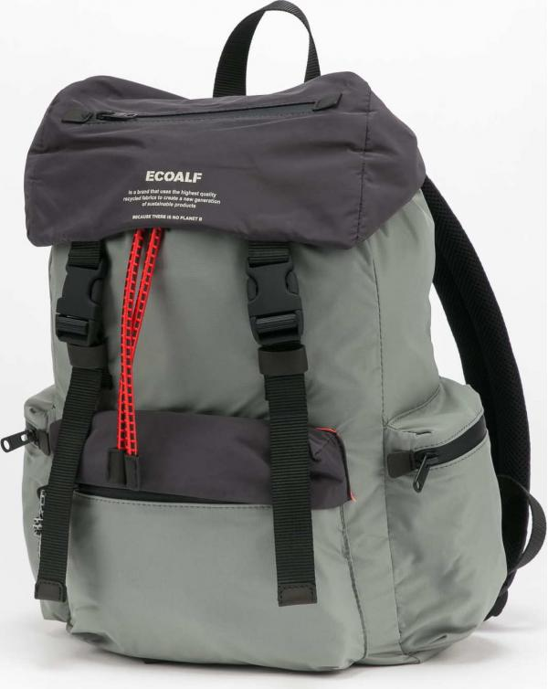 Ecoalf Wild Sherpalf Backpack světle olivový / černý