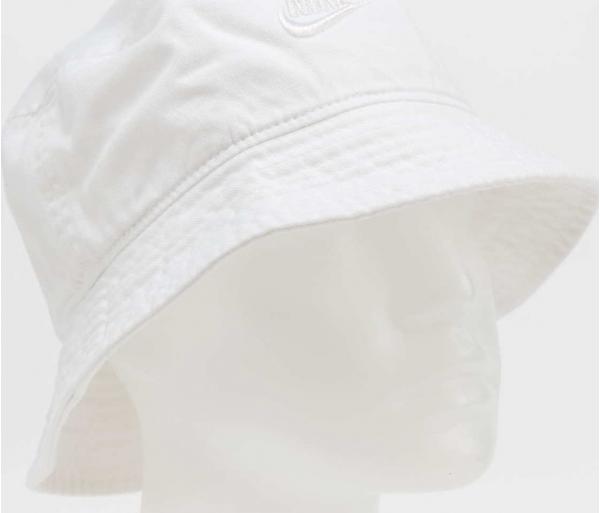 Nike U NSW Bucket Futura Wash bílý L-XL