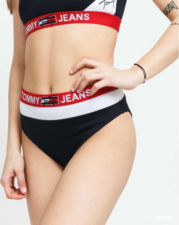 TOMMY JEANS Cheeky High Waist navy