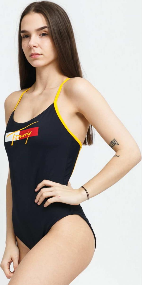 TOMMY JEANS Cheeky One Piece navy
