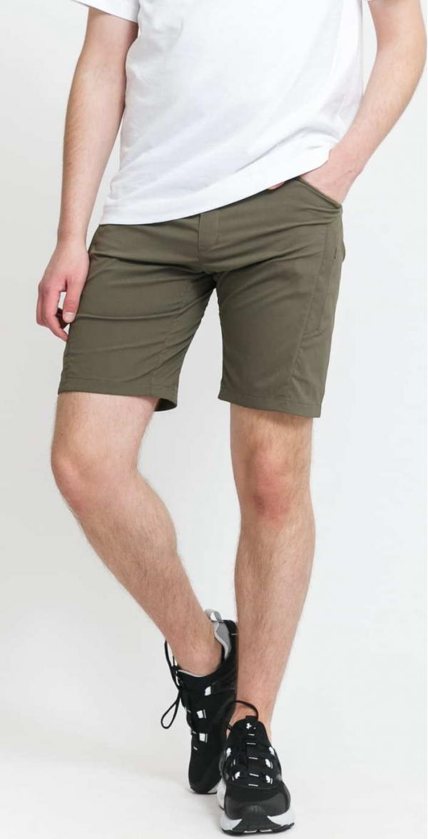 POUTNIK BY TILAK London Shorts olivové