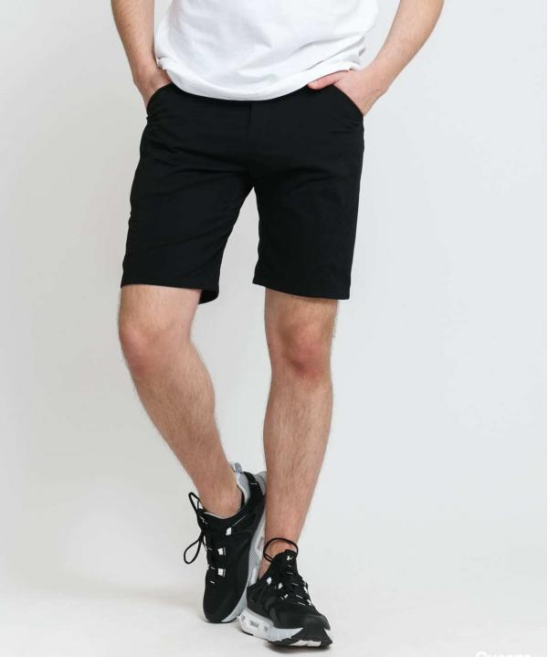 POUTNIK BY TILAK London Shorts černé