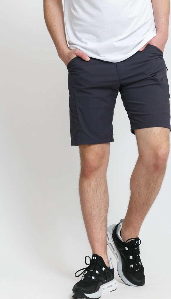 POUTNIK BY TILAK London Shorts tmavě šedé
