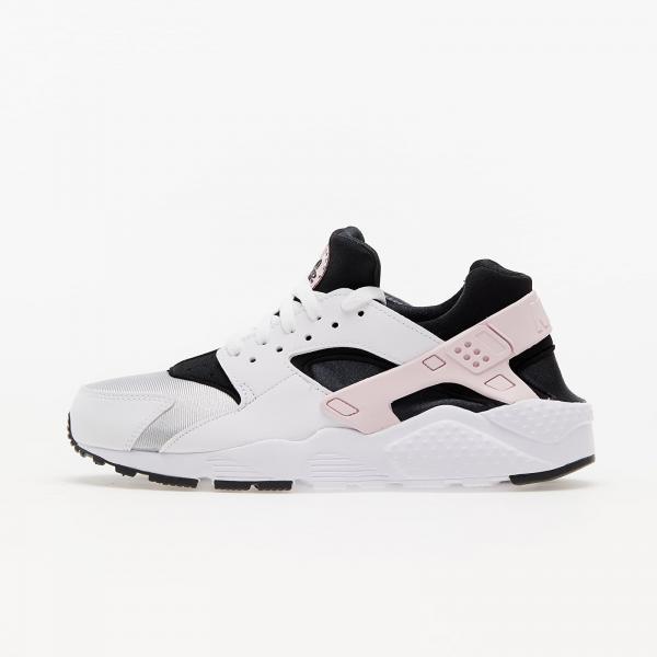 Nike Huarache Run (GS) White/ Pink Foam -Grey Fog-Off Noir