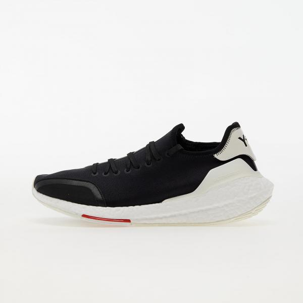 Y-3 UltraBOOST 21 Black/ Red/ Core White