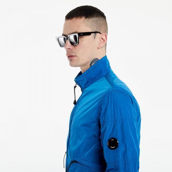 C.P. Company Short Jacket Blue Chrome