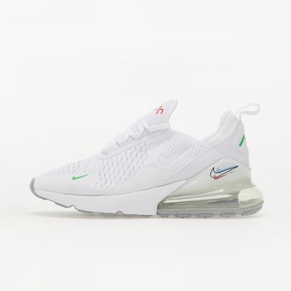 Nike Air Max 270 (GS) White/ Lt Green Spark/ Aluminium