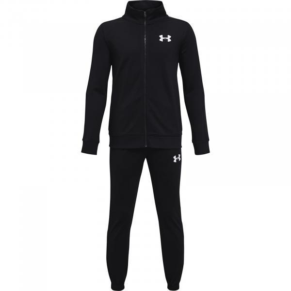 Under Armour Y Knit Track Suit Black