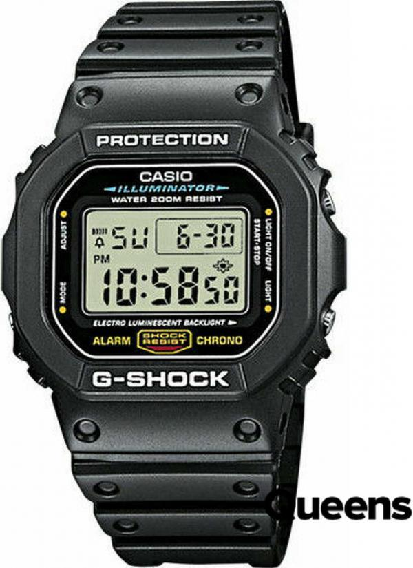 Casio G-Shock DW 5600E-1VER černé
