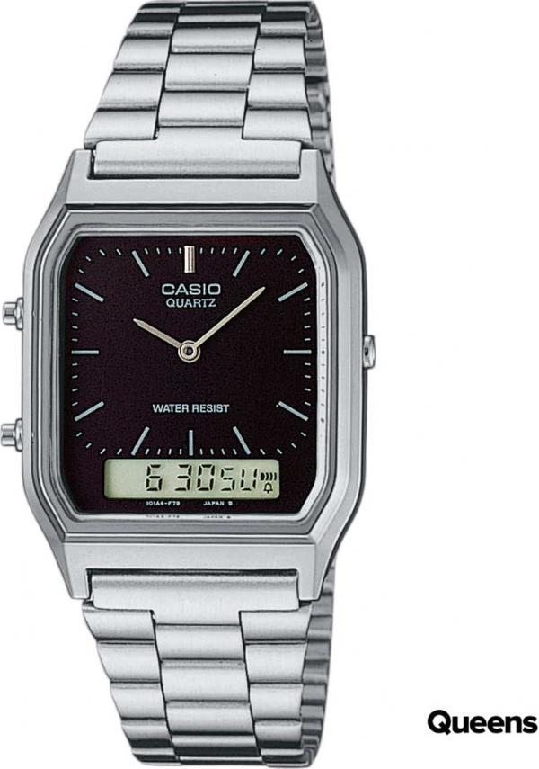 Casio AQ 230A-1DMQYES stříbrné / černé