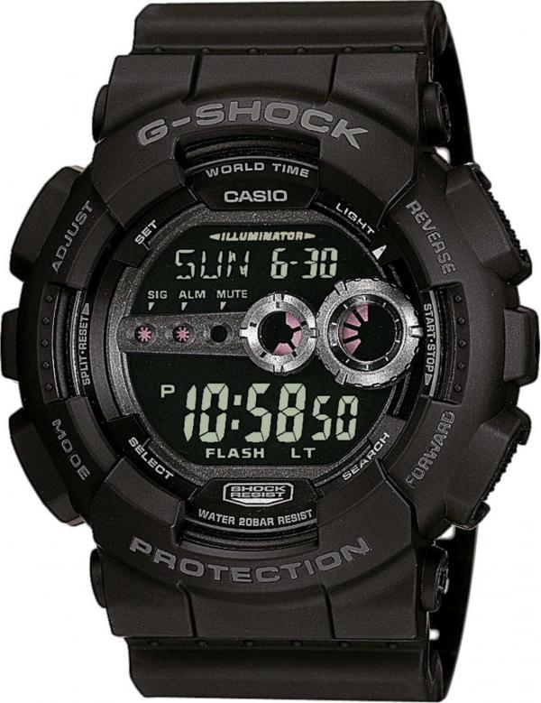 Casio G-Shock GD 100-1BER černé