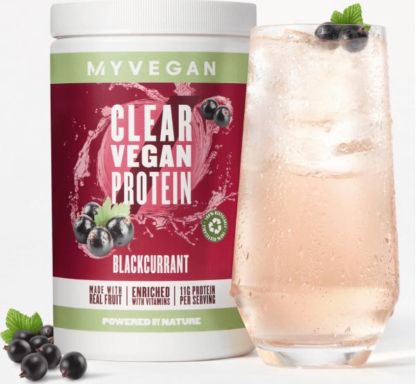 Myvegan  Clear Vegan Protein - 640g - Černý rybíz